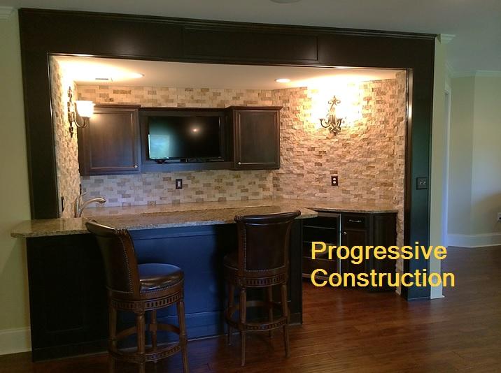 custom basement bars. Custom basement bars Creative Basement Finishing Photos  Atlanta